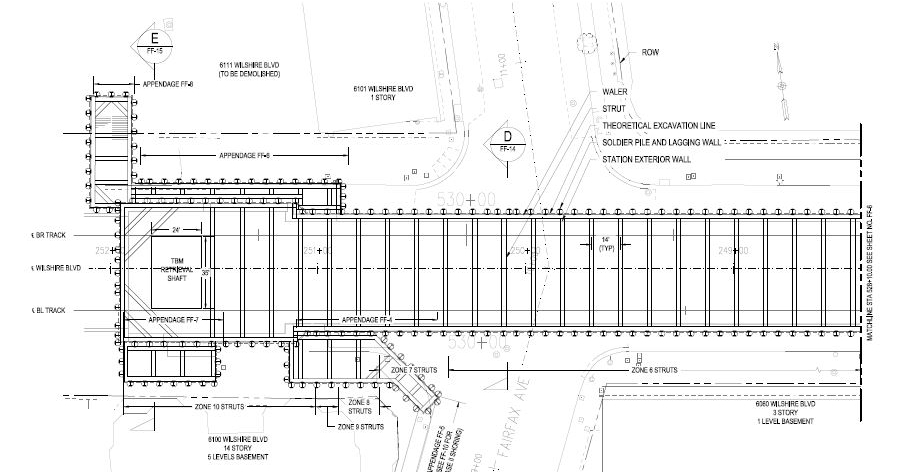 Westside Subway Extension Project And Other Excavations