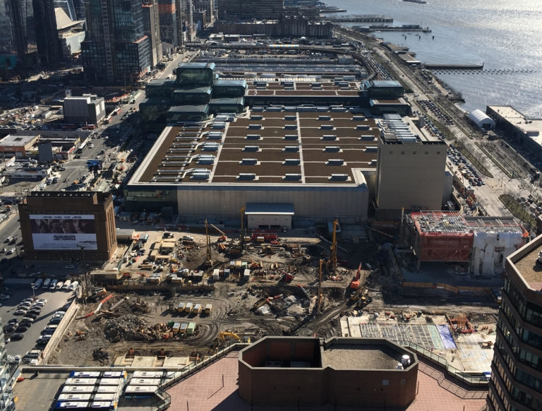 Deep Excavation for Javits Center in New York City