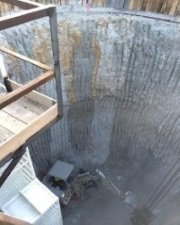 Circular Secant Pile Shaft in Florida designed with DeepEX by Hayward Baker
