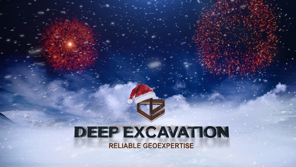 Welcome 2015 from Deep Excavation
