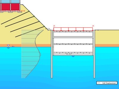 DeepXcav software designs for slurry walls