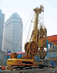 Diaphragm Wall Construction Slurry Wall Construction