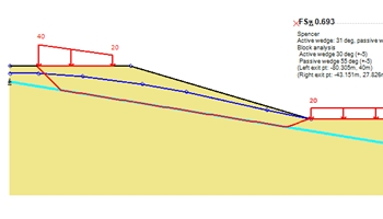 Slope stability example
