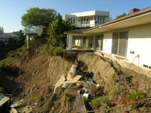 Slope Stabilization Deep Excavation