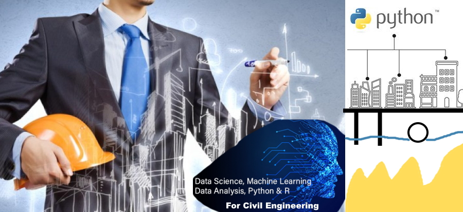 Data processing with python for civil engineers